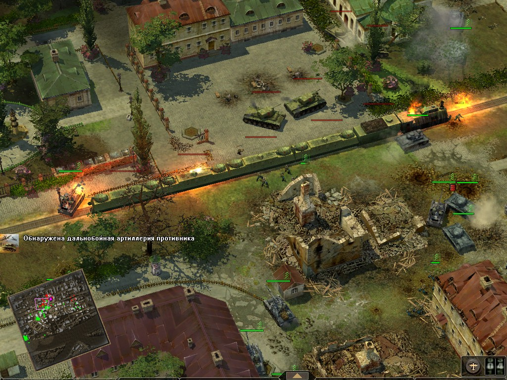 Великие битвы: Сталинград Бронепоезд
