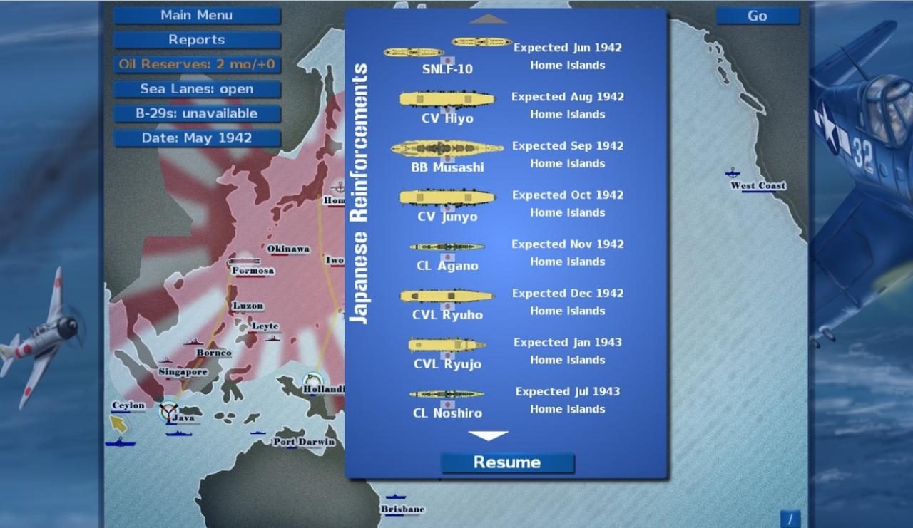 War Plan Pacific Скриншот 1