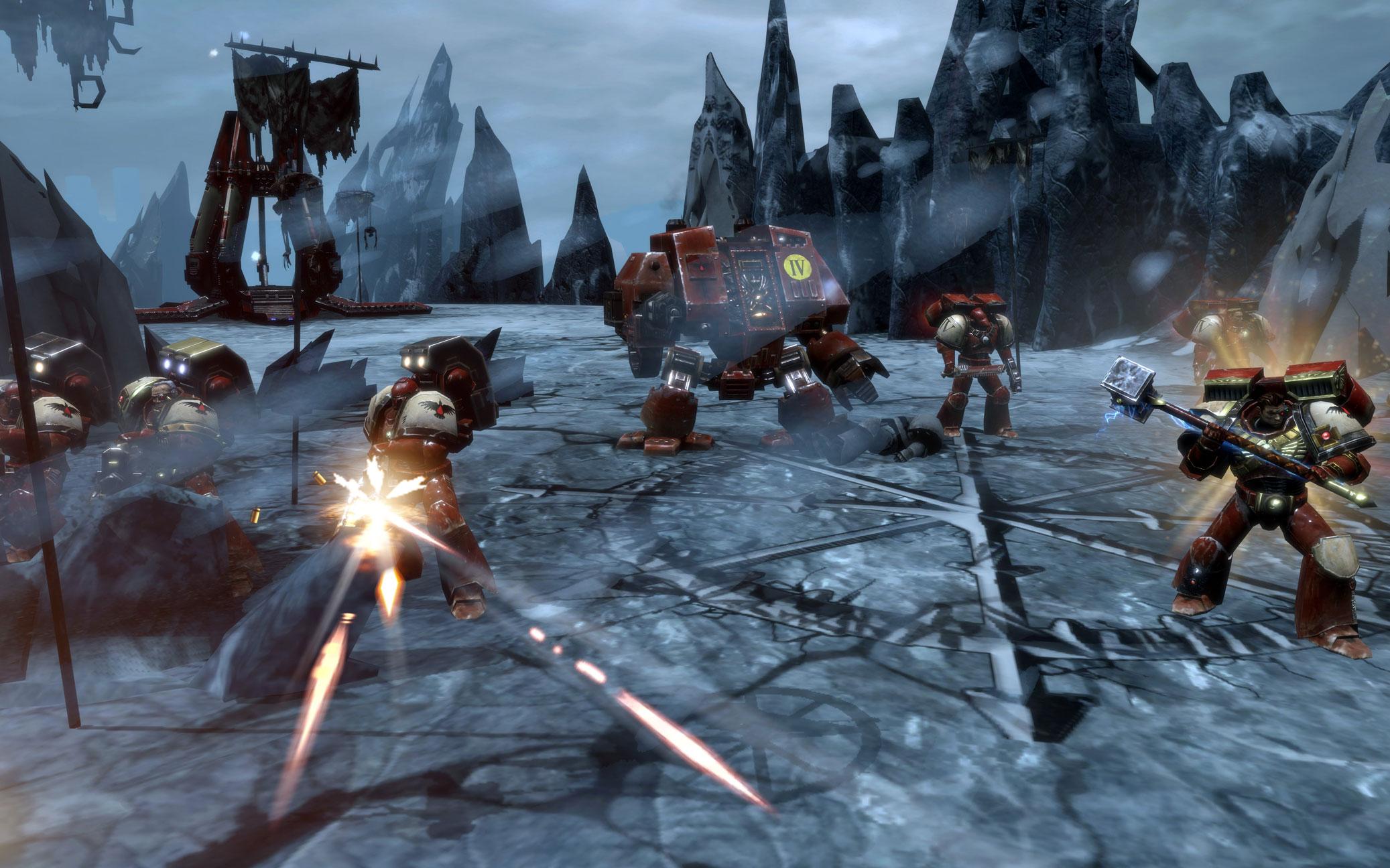 Warhammer 40000 Dawn of war 2 Chaos Rising Сражение