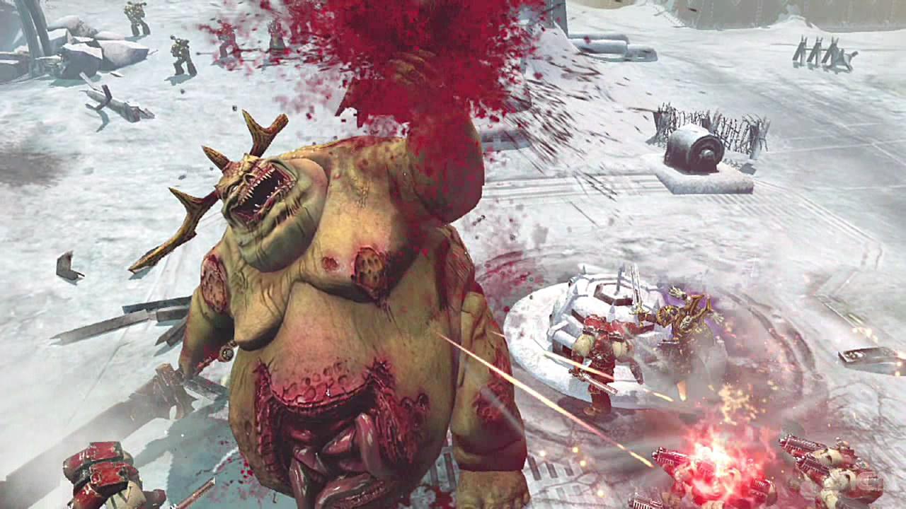 Warhammer 40000 Dawn of war 2 Chaos Rising Главный злодей