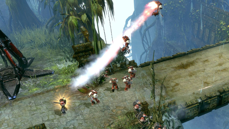 Warhammer 40.000: Dawn of War 2 Полеты на прыжковом ранце