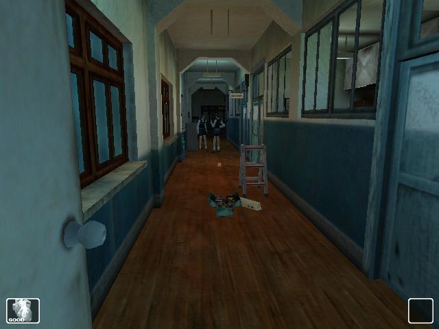 WhiteDay Один из коридоров