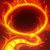 Flaming Lasso
