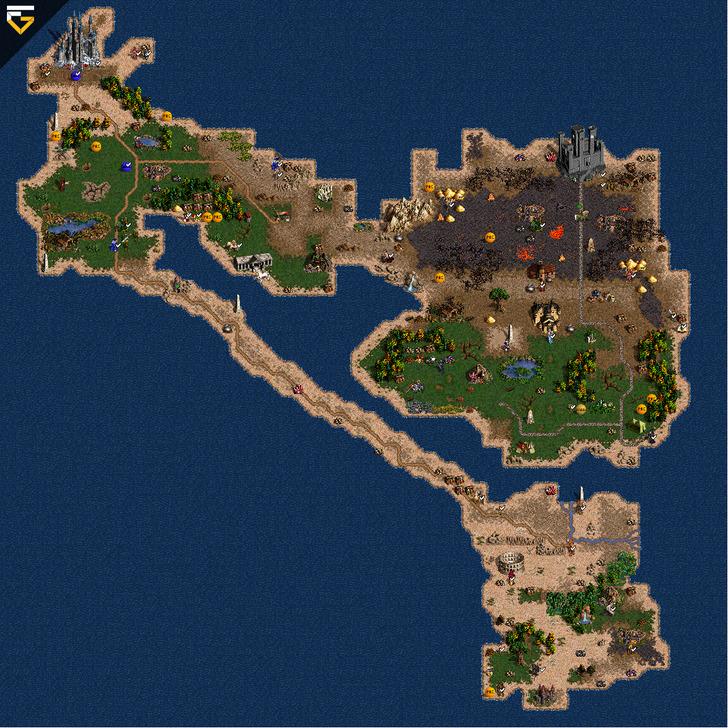 Изогнутые острова