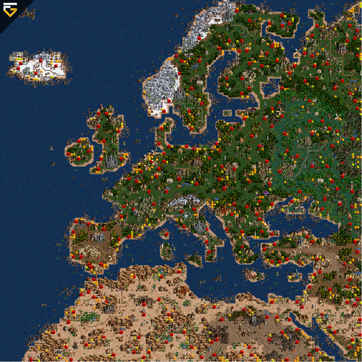 скачать карту для героев 3 Heroes - фото 11
