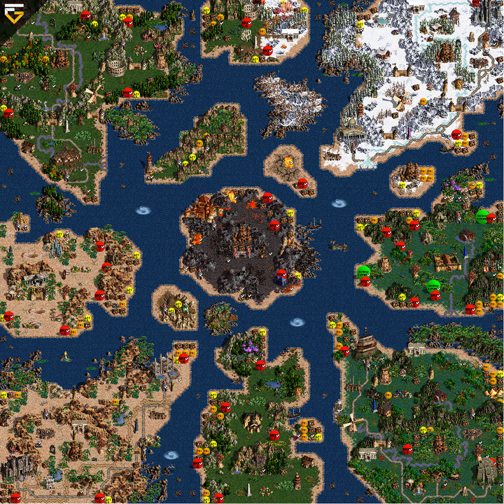 Герои 3 На Андроид Карты