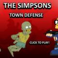 Симпсоны Защита Города от Зомби