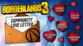 Разработчики Borderlands 3 подготовили новый ивент ко Дню всех влюбленных и повысили максимальный уровень